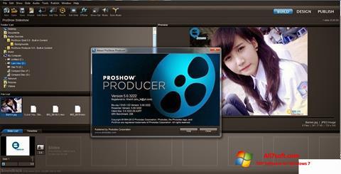 Képernyőkép ProShow Producer Windows 7