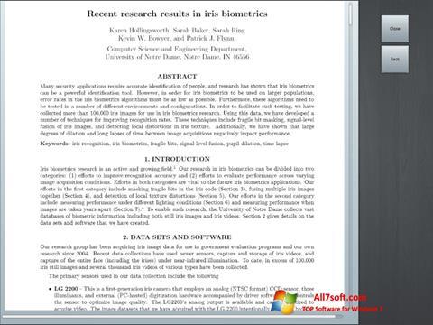 Képernyőkép Doc Viewer Windows 7