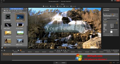 Képernyőkép Pinnacle Studio Windows 7