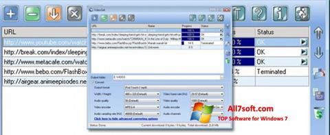 Képernyőkép VideoGet Windows 7