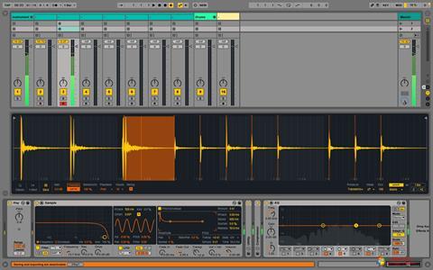 Képernyőkép Ableton Live Windows 7