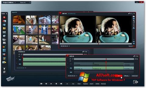 Képernyőkép Lightworks Windows 7