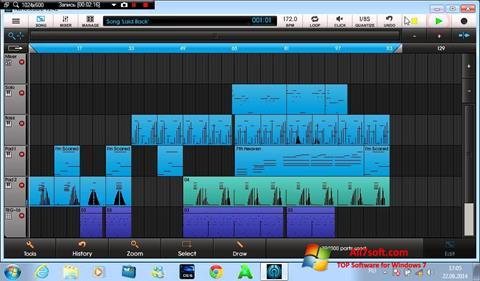 Képernyőkép NanoStudio Windows 7