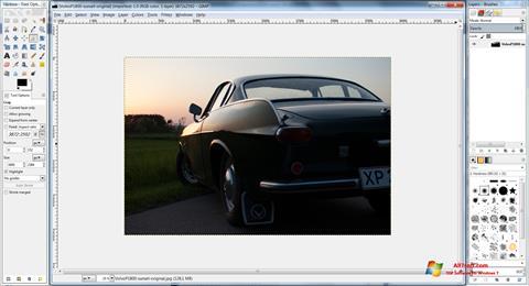 Képernyőkép GIMP Windows 7