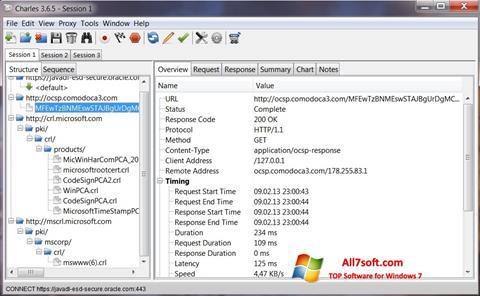 Képernyőkép Charles Windows 7