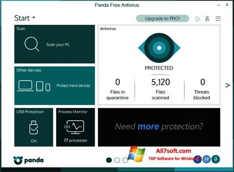 Képernyőkép Panda Windows 7