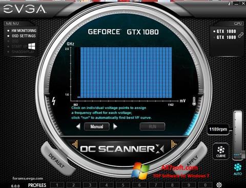 Képernyőkép EVGA Precision Windows 7