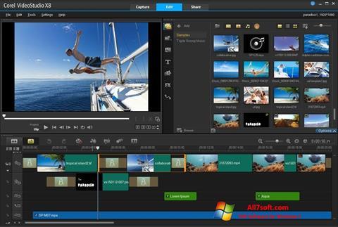 Képernyőkép Corel VideoStudio Windows 7