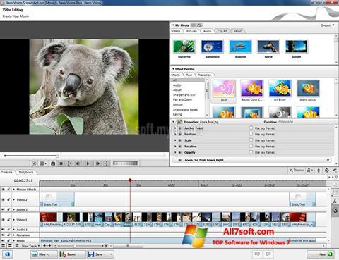 Képernyőkép Nero Vision Windows 7