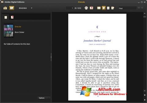 Képernyőkép Adobe Digital Editions Windows 7
