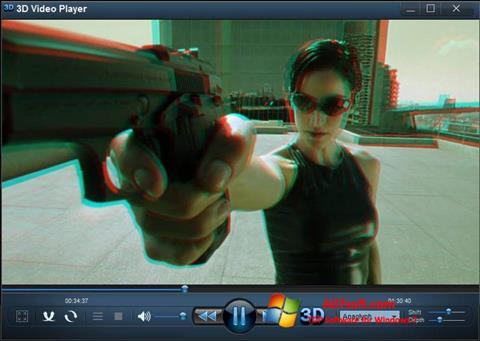 Képernyőkép 3D Video Player Windows 7