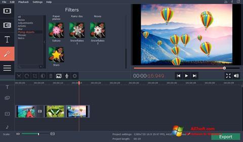 Képernyőkép Movavi Video Suite Windows 7
