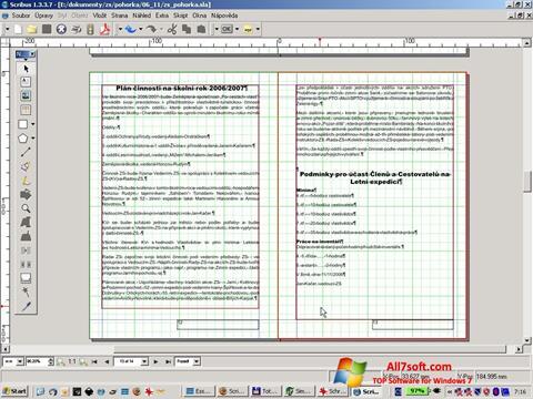 Képernyőkép Scribus Windows 7