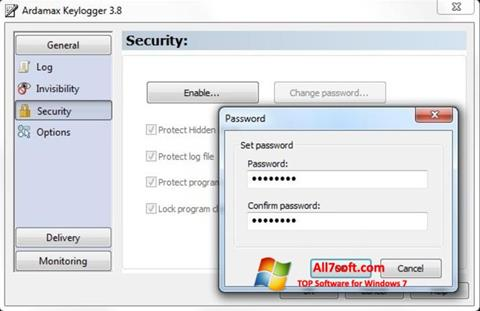Képernyőkép Ardamax Keylogger Windows 7