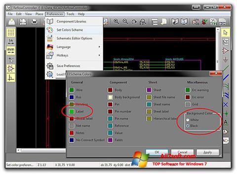 Képernyőkép KiCad Windows 7