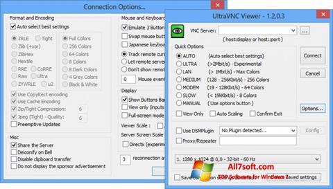 Képernyőkép UltraVNC Windows 7