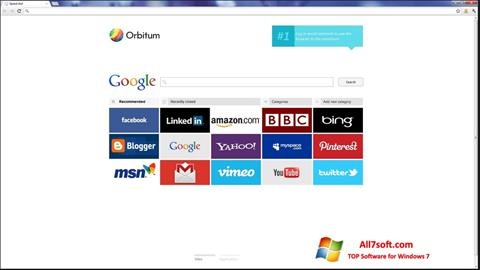 Képernyőkép Orbitum Windows 7