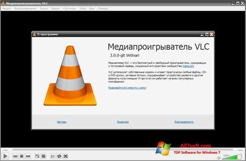 Képernyőkép VLC Media Player Windows 7