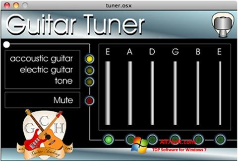 Képernyőkép Guitar Tuner Windows 7