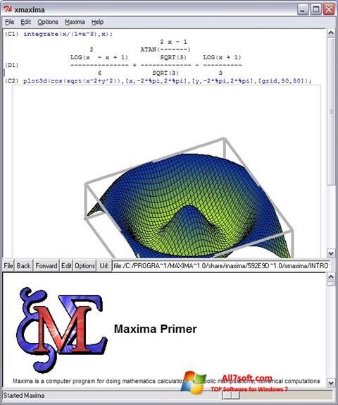 Képernyőkép Maxima Windows 7