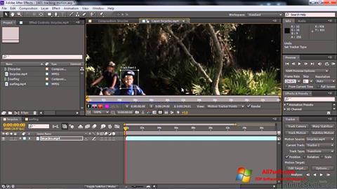 Képernyőkép Adobe After Effects CC Windows 7
