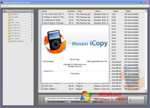 Képernyőkép iCopy Windows 7