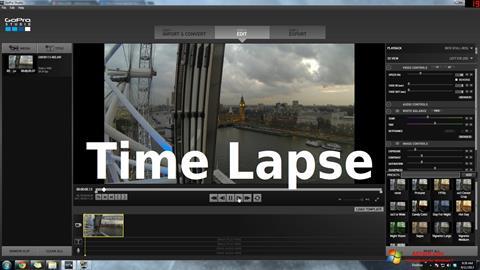 Képernyőkép GoPro Studio Windows 7