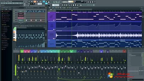 Képernyőkép FL Studio Windows 7