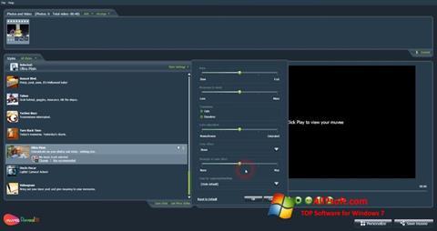 Képernyőkép muvee Reveal Windows 7