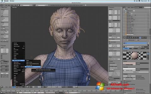Képernyőkép Blender Windows 7