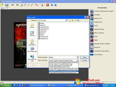 Képernyőkép Nero PhotoSnap Windows 7