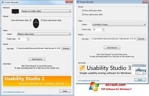 Képernyőkép Rylstim Screen Recorder Windows 7
