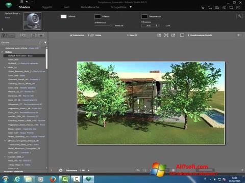 Képernyőkép Artlantis Studio Windows 7
