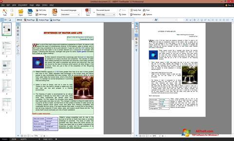 Képernyőkép ABBYY FineReader Windows 7