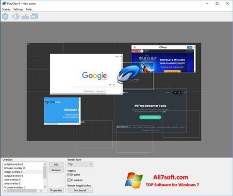 Képernyőkép PlayClaw Windows 7