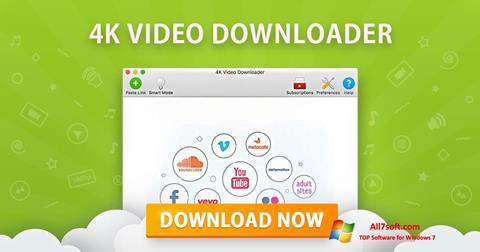 Képernyőkép 4K Video Downloader Windows 7