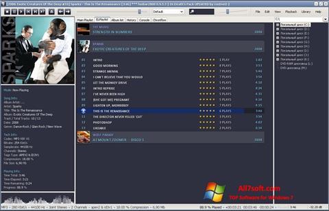 Képernyőkép Foobar2000 Windows 7