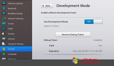 Képernyőkép Adobe AIR Windows 7