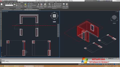 Képernyőkép AutoCAD Architecture Windows 7