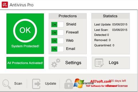 Letöltés Avira Antivirus Pro Windows 7 (32/64 bit) Magyar