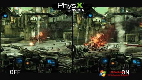 Képernyőkép NVIDIA PhysX Windows 7
