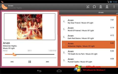 Képernyőkép Clementine Windows 7