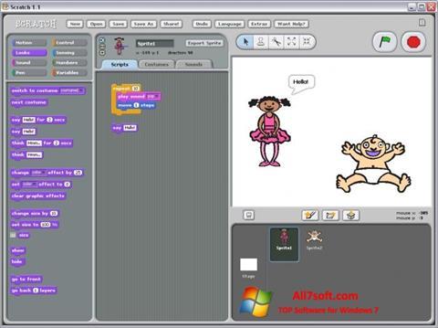 Képernyőkép Scratch Windows 7