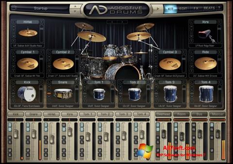 Képernyőkép Addictive Drums Windows 7