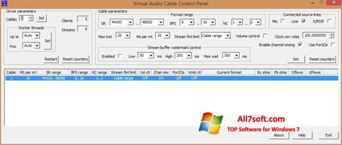 Képernyőkép Virtual Audio Cable Windows 7