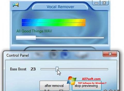 Képernyőkép Yogen Vocal Remover Windows 7