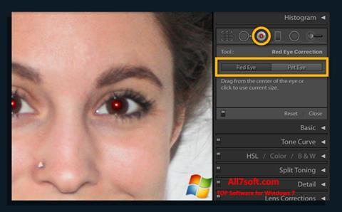 Képernyőkép Red Eye Remover Windows 7
