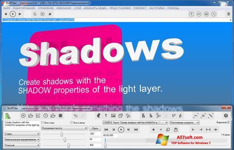 Képernyőkép BluffTitler Windows 7