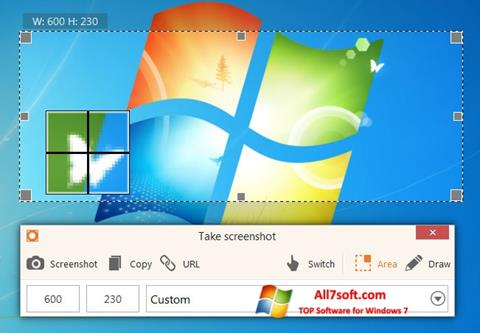 Képernyőkép ScreenShot Windows 7