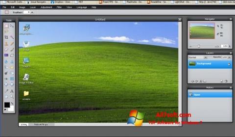 Képernyőkép LightShot Windows 7